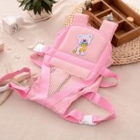 Рюкзак-кенгуру для куклы реборн розовый (артикул 502)
