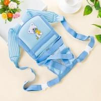 Рюкзак-кенгуру для куклы реборн голубой (артикул 503)