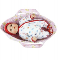Люлька-переноска для куклы реборн до 45 см. (артикул 528)