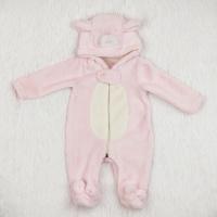 Комбинезон мишка розовый для куклы (артикул 353)