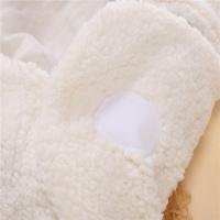 Комбинезон-конверт Мишка белый (артикул 666)
