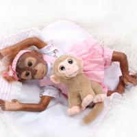Кукла реборн обезьянка (артикул 705)